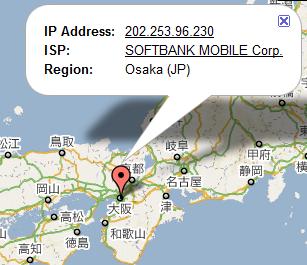 IPアドレスマップ