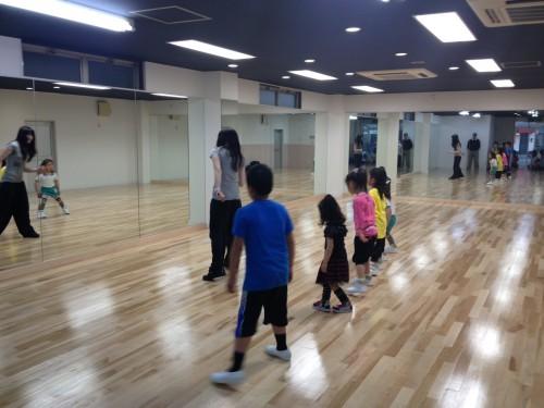 春日部のダンススクール「スタジオ・グレア」レッスン風景